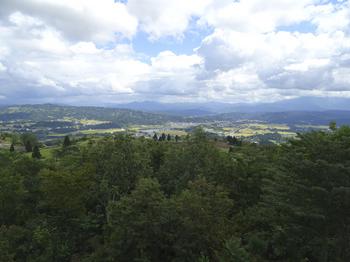 展望台からの風景